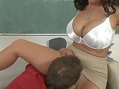 I fucked my big ass teacher