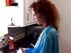 Milf Gets Drilled In Kitchen - M27