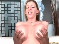 Milf pornstar Sara Stone rides BBC with cunt