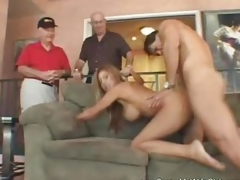Sara Jay likes getting her wet pussy slammed