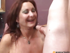 Doxy in high heels drilled by boy