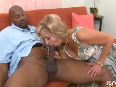 Divorce is the MILF fans greatest ally. Without a stale marriage and a posterior divorce, Connie wouldnt be getting her mouth, pussy and arsehole filled with a thrusting BBC right now. This is her 1st black man. I had anal sex in grad school and I?havent had it since, so I dont know if itll fit, Connie had said Dave about her chocolate hole boffing. Stone swings a thick fucker. Can Connie take that in her heinie-hatch? Youve seen the photos. Connie looked like she was loving her chocolate hole drilling in different positions. If her ex ever sees this, hes going to need therapy. This guy would never tag her tush let alone really ram her rump when he had her in his bed. I liked it when I?had anal sex in grad school. It was great. I?love anal sex with a hand stimulating my clit. That was my favorite. I like the pressure. I like that a lot. Its a different kind of pressure, and it feels really good. And now that Connie McCoys had the hard chocolate fucksicle only at 50PlusMilfs.com, is her pleasant tooth satisfied? What else does she want to try in the near future? We shall see.