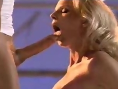 Blonde cum eater yearns for a willing sperm dabble